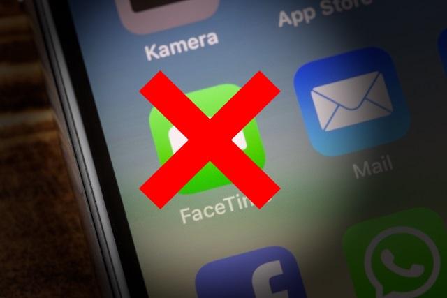 Lỗi FaceTime trên IOS 12.1 trở lên