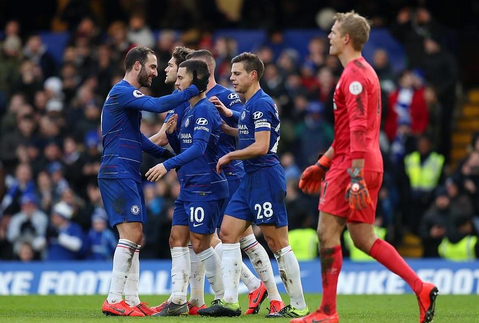 Chelsea - Huddersfield: vòng 25 NHA