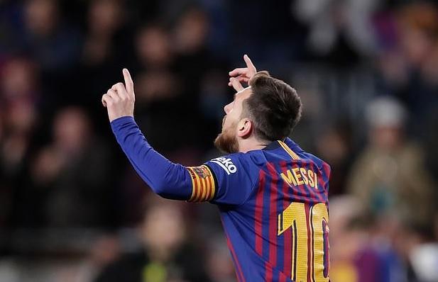 Messi giúp barca giữ lại 1 điểm